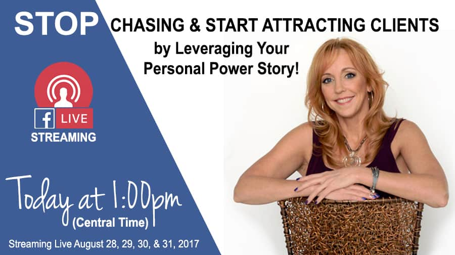 The Irresistibility of Your Personal Power Story